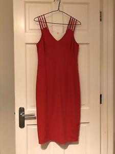 Ladies Coast Beautiful Red Dress Size 12