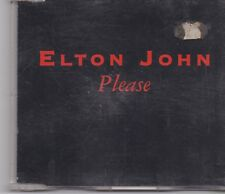 Elton John-Please promo cd single