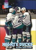 1994-95 Stadium Club Super Teams #1 Anaheim Mighty Ducks