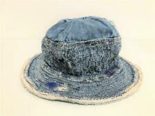 Kapital kountry 12oz old man and the sea damage denim hat new