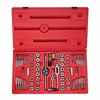 Neiko 76 PC Tap & Die Hexagon Set | SAE & Metric Alloy Steel