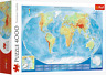 4000 Jigsaw Puzzle - MAP OF THE WORLD - Perfect Birthday Educational Gift