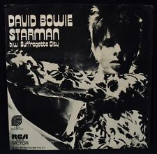 DAVID BOWIE-Starman & Suffragette City-Rare Picture Sleeve-RCA VICTOR #74-0719