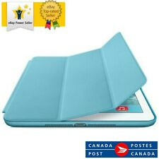 Official Apple MF050ZM/A Leather Smart Case for iPad Air 1 - Light Blue