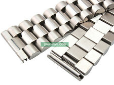 22mm Straight End Solid Steel President Bracelet For SKX007 6309-7040 SBBN015