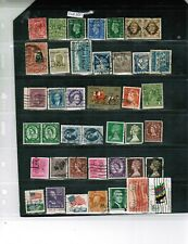 PERFINS -36+ G.B, EUROPE,,AUSSIE, CANADA,& USA++ USED LOT P12