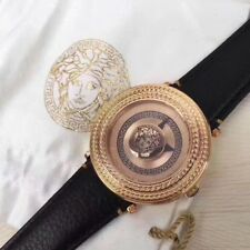 Versace Men's VQL010015 V-Metal Icon Analog Display Swiss Quartz Rose Gold Watch
