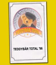 Die größte Teddybär-Schau der Welt TEDDYBÄR TOTAL 1996 Messe Hennef - Sieg DOKU