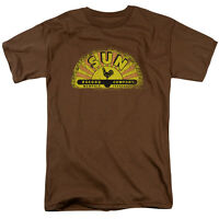 Sun Records VINTAGE LOGO Licensed Adult T-Shirt All Sizes