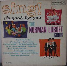>DISCO 33 GIRI  - NORMAN LUBOFF CHOIR - SING!