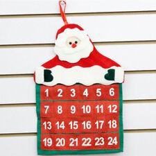 Christmas Xmas Decorations Santa Claus Calendar Hotel Lobby Family Pendant New