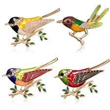 New Fashion Lovely Crystal Rhinestone Animal Bird Brooch Pin Spring Jewelry Gift