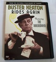 Railrodder, The/Buster Keaton Rides Again (DVD, 2001) MINT disc !! OOP and RARE