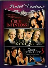 Cruel Intentions 1, 2, and 3 (DVD 3-Disc)
