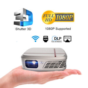 3300LMS WiFi DLP Projector 3D Home Cinema Movie Meeting Game Airplay for iOS UK