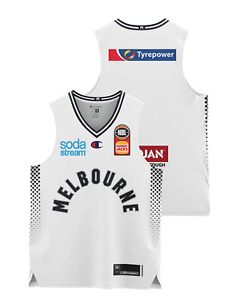 Melbourne United 20/21 Youth Authentic Away Jersey, NBL Basketball