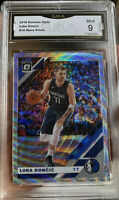 2019-20 PANINI DONRUSS OPTIC FANATICS Wave Prizm Silver Luka Doncic 9 MINT