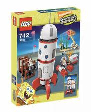 🔥✌️🔎NISB Lego SpongeBob Squarepants 3831 Rocket Ride RARE