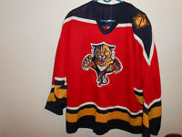 Vintage Florida Panthers Jersey XL CCM Maska NHL USA Made