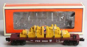 Lionel 6-26629 O Gauge Pennsylvania RR Flatcar with Generators LN/Box