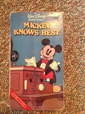 Mickey Knows Best (VHS)