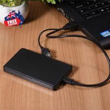 New USB3.0 1TB External Hard Drives Portable Desktop Mobile Hard Disk Case AU