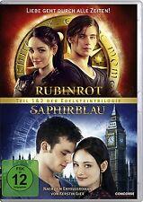 2 DVDs *  RUBINROT / SAPHIRBLAU - Die Doppeledition  # NEU OVP $