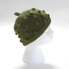 Tejido a mano FRESA estilo invierno de lana gorro, talla única, unisex sth1