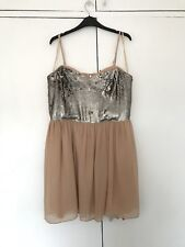 Love Label Strappy Sequin Party Dress Size 16