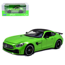 Welly 1:24 Mercedes Benz AMG GTR Metal Diecast Model Car New in Box Green