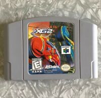 Extreme-G 2 XG2 Racing Nintendo 64 Authentic Cartridge Cleaned & TESTED