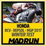 Kit Adesivi Honda RCV MotoGP HRC Repsol 2017 Winter Test - High Quality Decals