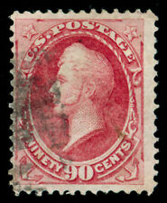 Momen: Us Stamps #144 Grilled Used Pse Cert