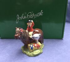 John Beswick The Champions Limited Edition Thelwell Boxed