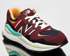 New Balance 57/40 Women's Burgundy Navy Lifestyle Lace Up Sneakers Casual Shoes