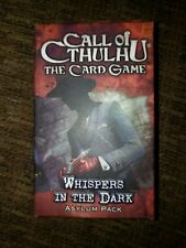 Call Of Cthulhu Ccg Whispers In The Dark Asylum Pack