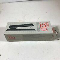Vintage NOS BATES 320 Black Stapler