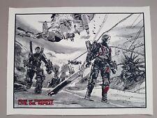 Taglio di Tomorrow Alternativa Film Poster nuovo carne rara Firmato 1/1 Mondo NT