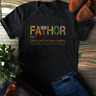 Thor T shirt Fathor tshirt  Thor Avengers: Endgame Lovers T-shirt Dad Gift Tees