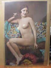 Vintage Poster Nude Deco 1971 Hot Girl  Inv#90