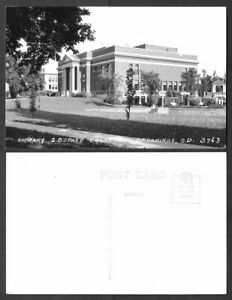 Old South Dakota Postcard - Real Photo - Brookings - State College Library