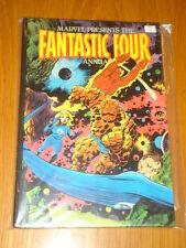 FANTASTIC FOUR MARVEL COMICS BRITISH ANNUAL 1981 VF