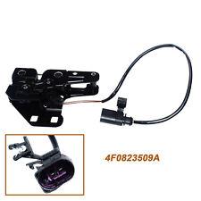 4F0823480B Latch Hood Lid Lock w/ Switch For 2005-2011 Audi A6 S6 C6 4F0823509A
