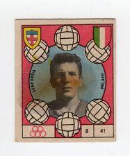 figurina CALCIO VAV 1959/60 NUMERO 41 SAMPDORIA MILANI