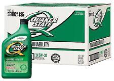 Quaker State 5W-30 Motor Oil 12 Pack 1 Quart Bottles Helps Engines Survive