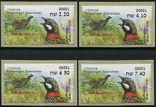 Israel 2015 ATM Rebhühner Partridge Vögel Birds ** MNH
