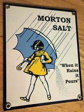 Salt nostalgia sign