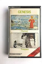GENESIS - FOXTROT & TRESPASS DOUBLE PLAY CASSETTE - CASMC112