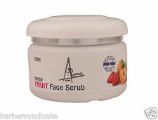Aroma Aina Herbal Face & Body Fruit Scrub 250ml. Facial Cream Scrub Face Glow