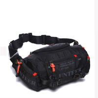 Waterproof Oxford Fanny Pack Men Tactical Travel Sling Chest Hip Bum Waist Bag
